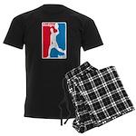 Dodgeball Association Men's Dark Pajamas