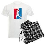 Dodgeball Association Men's Light Pajamas