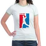 Dodgeball Association Jr. Ringer T-Shirt