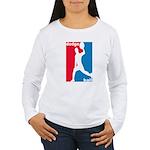 Dodgeball Association Women's Long Sleeve T-Shirt