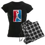 Dodgeball Association Women's Dark Pajamas