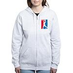 Dodgeball Association Women's Zip Hoodie