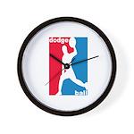 Dodgeball Association Wall Clock
