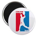 Dodgeball Association Magnet