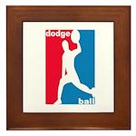 Dodgeball Association Framed Tile