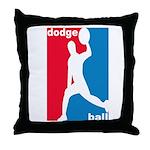 Dodgeball Association Throw Pillow