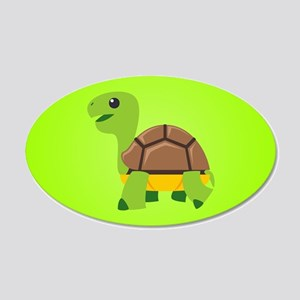 Turtle 20x12 Oval Wall Decal