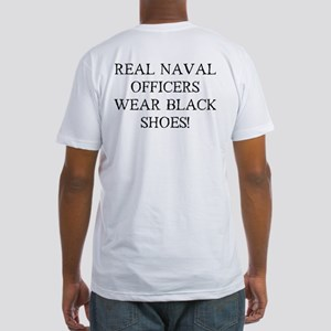 Black Shoes Fitted T-Shirt