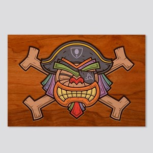 Tiki Pirate 813 Postcards (Package of 8)