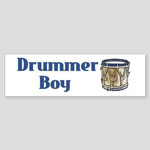 Drummer Boy Bumper Sticker