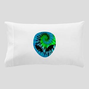 Tie Dye Alien Pillow Case