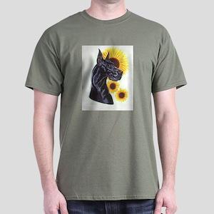 C Blk Sunflower Dark T-Shirt