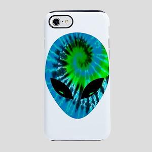Tie Dye Alien iPhone 7 Tough Case