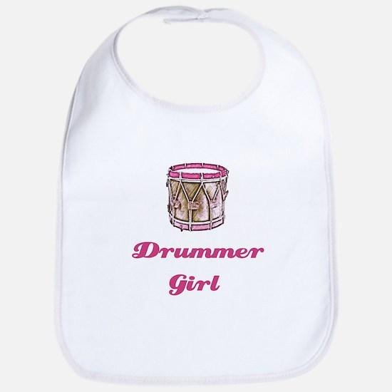 Drummer Girl Bib