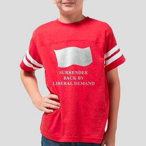 3-Surrender black t-shirt Youth Football Shirt