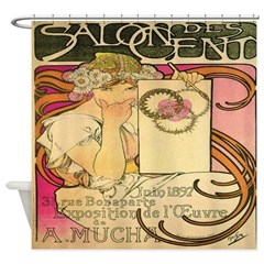 Salon des Cent Shower Curtain