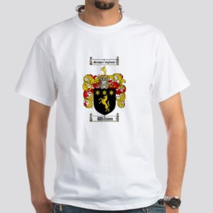 Wilson Coat of Arms Family Crest White T-Shirt