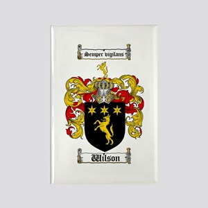 Family crest magnets cafepress wilson coat of arms family crest rectangle magnet thecheapjerseys Gallery