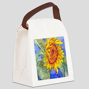 largeprint Canvas Lunch Bag