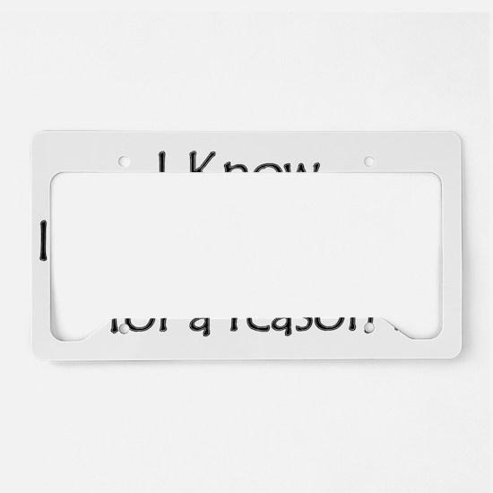 room License Plate Holder