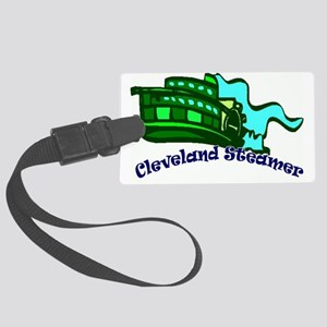 steamer Large Luggage Tag