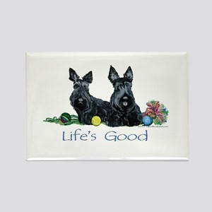 Scottish Terrier Life! Rectangle Magnet