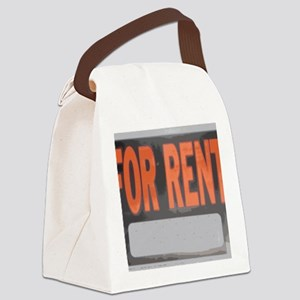 rent Canvas Lunch Bag