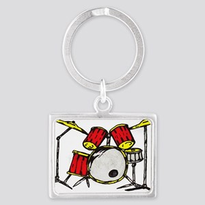 drums Landscape Keychain