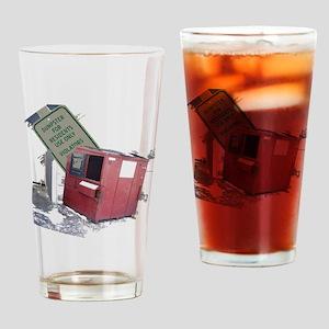 dumpster-black Drinking Glass