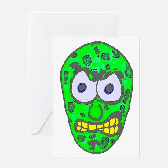 pickle-black Greeting Card