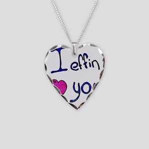 effin Necklace Heart Charm