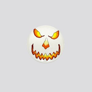 pumpkinface-black Mini Button