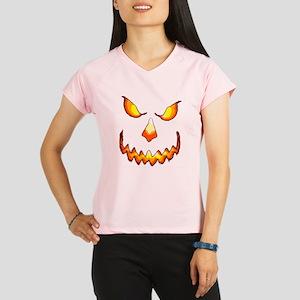 pumpkinface-black Performance Dry T-Shirt