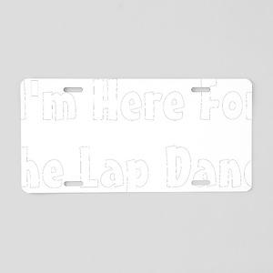 lap-black Aluminum License Plate