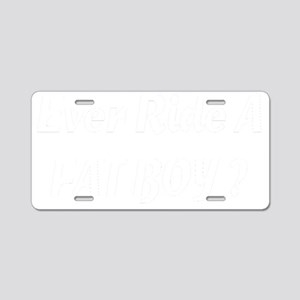 fatboy-black Aluminum License Plate