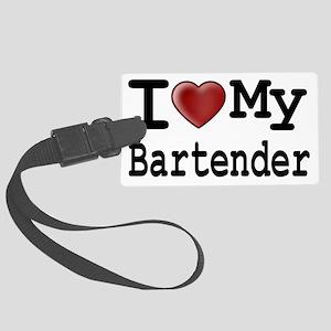 bartender Large Luggage Tag