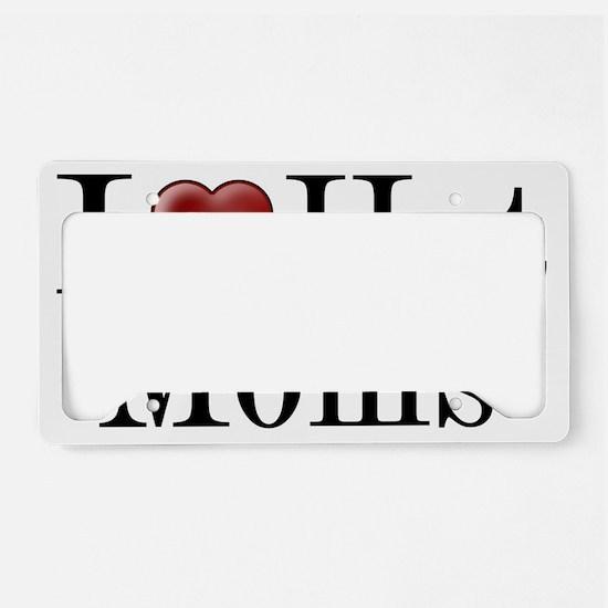 hotmom License Plate Holder