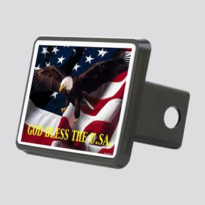 God Bless The U.S.A. Hitch Cover