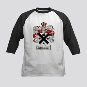 Williamson Coat of Arms Crest Kids Baseball Jersey