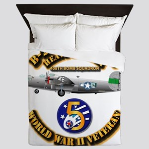 AAC - 22nd BG - 408th BS - 5th AF Queen Duvet