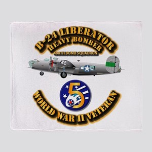 AAC - 22nd BG - 408th BS - 5th AF Throw Blanket