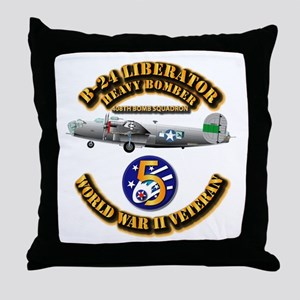 AAC - 22nd BG - 408th BS - 5th AF Throw Pillow