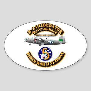 AAC - 22nd BG - 408th BS - 5th AF Sticker (Oval)