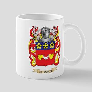 Le-Conte Coat of Arms - Family Crest Mug