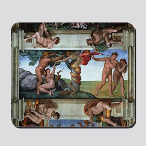 fall of man Mousepad