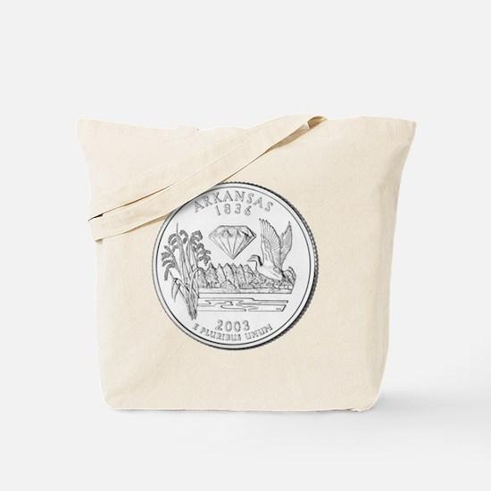 arkansas-black Tote Bag