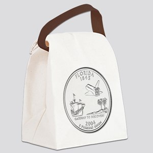 florida Canvas Lunch Bag