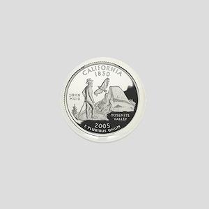 california-black Mini Button