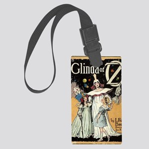 Glinda of oz Large Luggage Tag