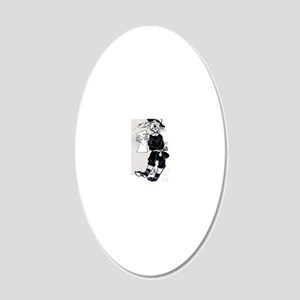 Scarecrow 20x12 Oval Wall Decal